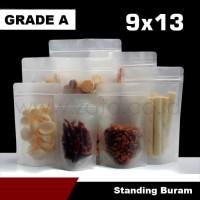 Plastik bag buram 9x15 standing pouch | plastik ziplock | kemasan