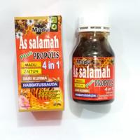 Madu As salamah plus 4 in 1 (Madu, Zaitun, Sari Kurma dan Propolis)