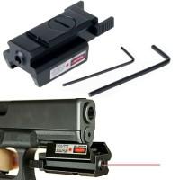 Pointer Red Dot Sight Weaver Mount Pistol Laser