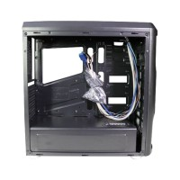 Jual Casing PC Gaming Case CUBE GAMING VATTENFAL - Full Acrylic Window