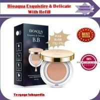 Bioaqua Exquisite and Delicate Cream Air BB Cushion Gold SPF + Refill