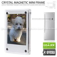 Frame Acrylic Magnet Album Kulkas Fujifilm Instax Mini 8/9/90/SP-2 etc