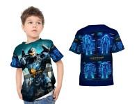 Kaos Baju Anak Fullprint Custom Pacific Rim 2 Uprising 01