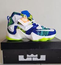 Sepatu Basket Nike Lebron 13 BNIB Premium Original Blue X Air Jordan