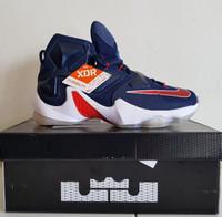 Sepatu Basket Nike Lebron 13 USA Premium Original Navy X Air Jordan