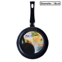 Makcook Wajan Crepes Pan 18 cm - Hijau