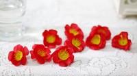 bunga artificial kuntum kelopak petal petals sakura A1