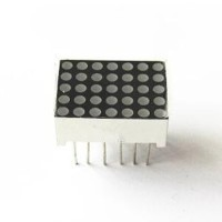harga Dot matrix display 3mm 5x7 red common anode 1 Tokopedia.com