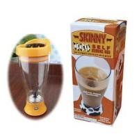 Skinny Moo Self Stirring Mug / Gelas Pengaduk otomatis Murah