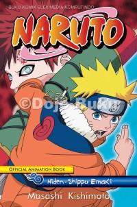 Komik: Naruto Official Animation Book: Hiden - Shippu Emaki