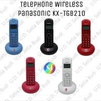 Telephone Wireless Panasonic KX-TGB210 Asli dan Bergaransi