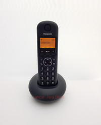 Telepon Rumah/Telpon/Telepon Wireless Panasonic KX-TGB210 Hitam