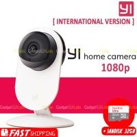 Xiaomi Yi Home 1080p Xiaoyi IP Camera CCTV International +Sandisk 32GB