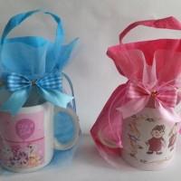 Kemasan Souvenir Hampers Mug Handuk Dll ulang tahun, aqiqah, one month