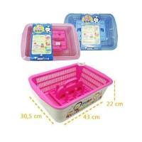 Rak Puku Nursery Container pengering botol susu dot