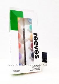 Reeves Acrylic Set 12 Warna (Pots 5ml)