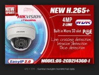 NEW IP CAMERA HIKVISION 4MP DS-2CD2143G0-I Support H.265+