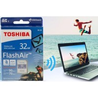 Toshiba Flash Air 32GB U3 UHS SpeedClass 3 Read Upto 90mbps 4K