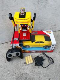 harga Rc car transformers - mobil remote control - mainan robot anak edukati Tokopedia.com
