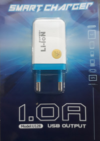 ADAPTOR SMART CHARGER SUPER LI-ION 1,0A MODEL:U128