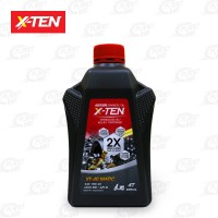 X-TEN 10W40 API SL 800ml OLI MOTOR MATIC