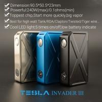 Vape Tesla Invader 3 / III SEMI MECHA MOD 240W (Not Istick pico, wye)