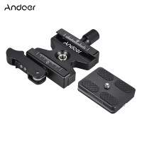 Andoer CL-50LS Aluminum Alloy Quick Release Plate&amp for Arca Swiss