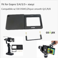 Gopro /action camera /xiaomi yi Adapter Plate For tongsis gimbal