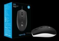 Logitech G90 Optical Gaming Mouse Original Garansi ResmI