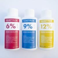cream developer matrix oxydant 100ml - cream campuran cat rambut