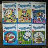 Paket 6 Buku Komik Doraemon 40,41,42,43,44,45
