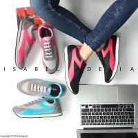 Isabel Sepatu Kets Sport Santai Wanita ZUMBA Sneakers Shoes Hijau Tosc