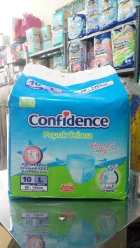 Confidence POPOK CELANA L10 (ANTI BACTERIA)
