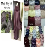 mukena baby silk