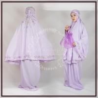 Mukena Bordir Handmade babby Silk