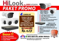 Paket CCTV HiLook 4 Camera