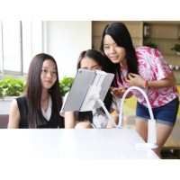 Lazypod Arm Mount Tablet HP iPad Holder Klip 360 Derajat Lipat Putar