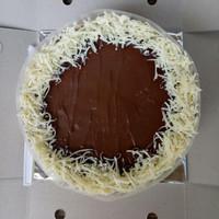 Japanese Cheese Cake topping mix nutella + keju