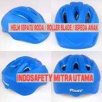Helm Sepatu Roda Anak / Helm Sepeda Anak merk power