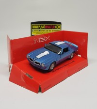1972 PONTIAC FIREBIRD TRANS AM - SKALA 36 - WELLY (DIECAST-MINIATUR)