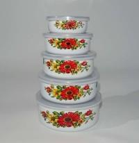 Mixing bowl susun 5 (enamel)