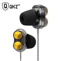 QKZ KD7 Earphone Headset Super Bass Dual Driver Gaming