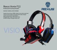 [Murah] Headset Gaming Rexus F22 vonix