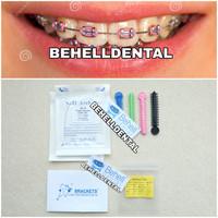 Paket Behel Permanen Ekonomis Bracket Amplop orthodontics