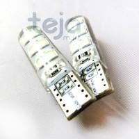 T10 Crystal Jelly 6 Mata STROBO/Kedip Led 5730 Lampu Senja Sen/Sein