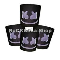 Topeng Marshmello Hitam - Helmet Marshmellow Murmer Bahan Bagus