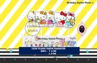 Lilin Ulang Tahun / Ultah Karakter Hello Kitty isi 5 PCS
