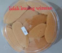 Kue kering (lidah kucing wisman)