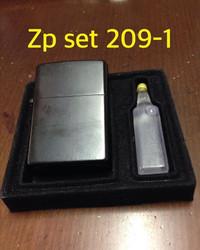 Keren - Zippo Black Berdenting Kw Super - Bonus Minyak - Lighter