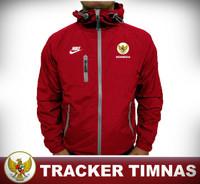 JAKET TRACKER BOLA WATERPROOF | ANTI AIR & ANGIN | TIMNAS INDONESIA